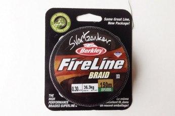 Berkley Fireline Svartzonker Braid