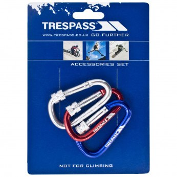 Trespass Lock X Keyring