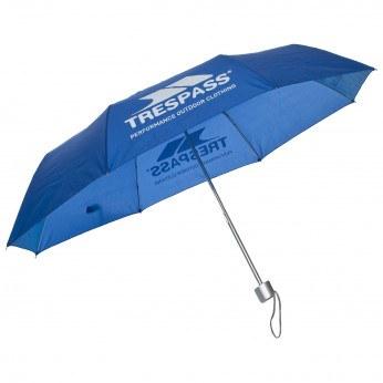 Trespass Compact Paraply Blå