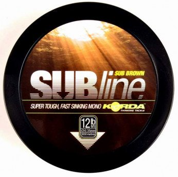 Korda SUBline 1000m 0,40mm Brown