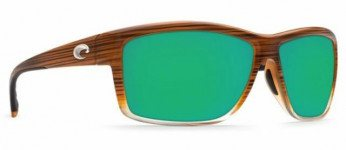 Costa Mag Bay 580P Wood Fade/Green Mirror