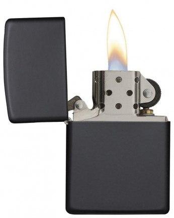 Zippo Lighter Regular Matte Black 218