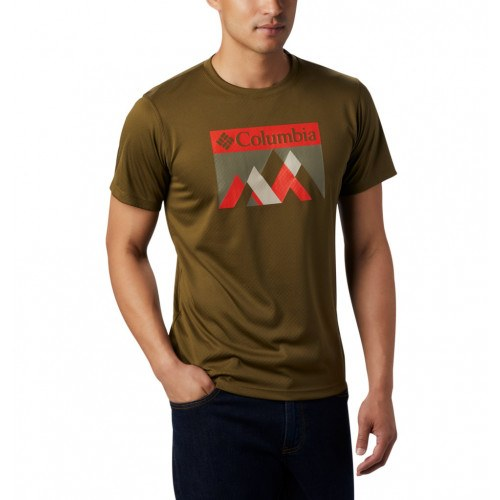Columbia Zero Rules™ Graphic T-Shirt New Olive Peak thumbnail
