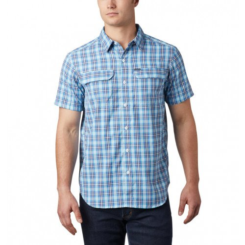 Columbia Silver Ridge™ 2. Multi Plaid SS Skjorte Azul Gingham thumbnail