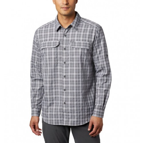 Columbia Silver Ridge™ 2. Plaid LS Skjorte Black Gingham thumbnail
