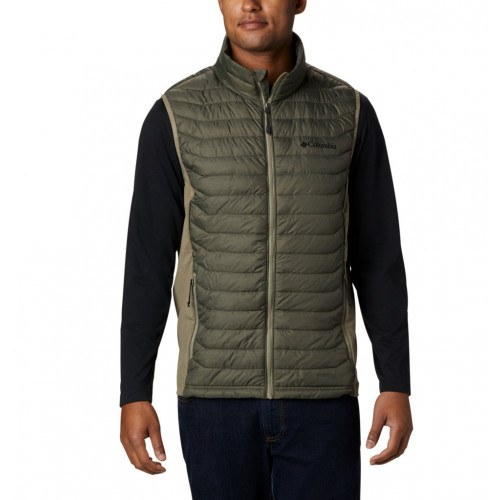 Columbia Powder Pass™ Vest New Olive Heath thumbnail