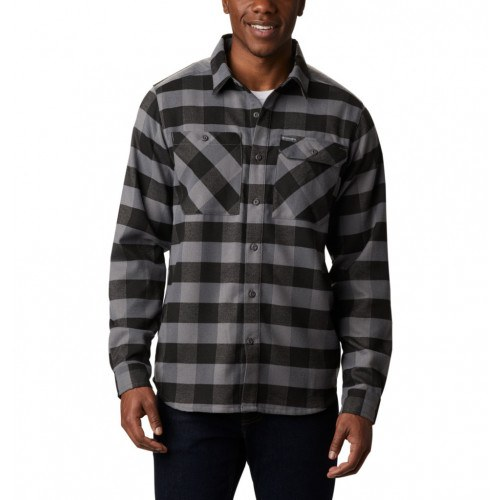 Columbia Outdoor Elements™ Stretch Flannel Grå/Sort thumbnail
