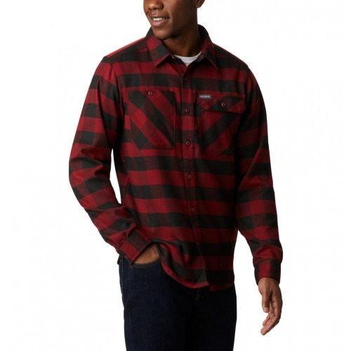 Columbia Outdoor Elements™ Stretch Flannel Rød/Sort thumbnail