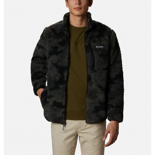 Columbia Winter Pass™ Print Fleece Full Zip Black Camo thumbnail