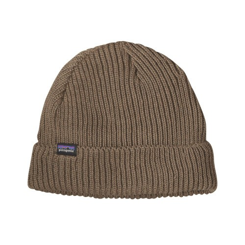 Image of   Patagonia Fishermans Rolled Beanie Ash Tan