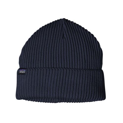 Image of   Patagonia Fishermans Rolled Beanie Navy Blue