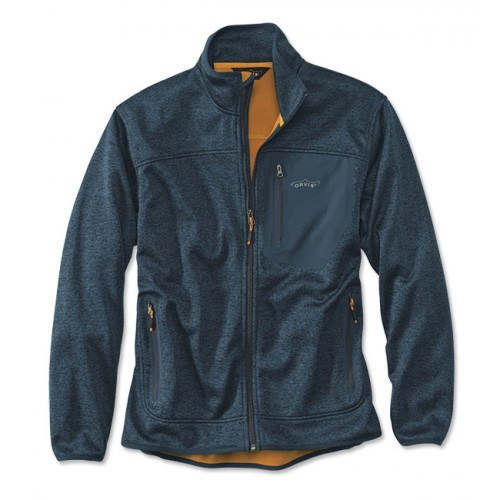 Image of   Orvis Windproof Fleece Jakke Navy