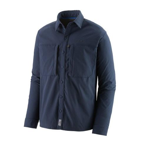 Patagonia Snap-Dry Skjorte New Navy thumbnail