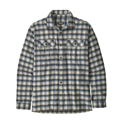 Image of   Patagonia Fjord Flannel Skjorte Oyster White