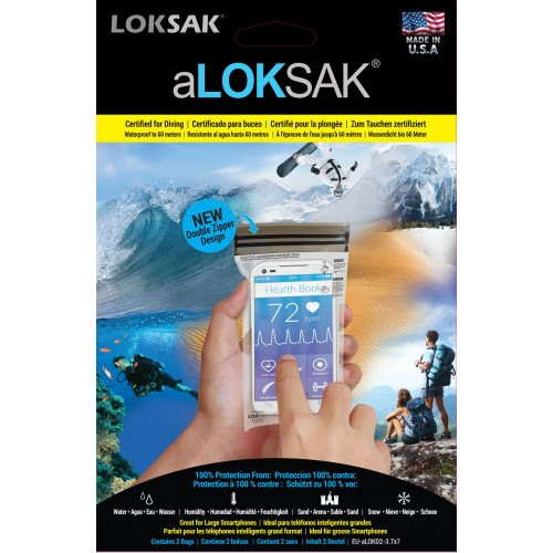 Image of   aLoksak 2pak 3,7x7 (8,89x14,44 cm.)