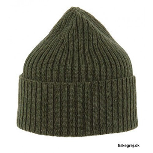 Image of   MJM Beanie 100% Merino Wool Army