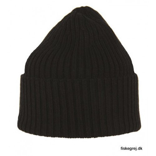 Image of   MJM Beanie 100% Merino Wool Black