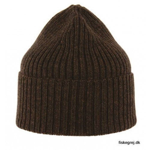 Image of   MJM Beanie 100% Merino Wool Brown