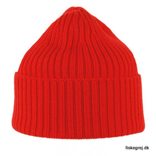 Image of   MJM Beanie 100% Merino Wool Red