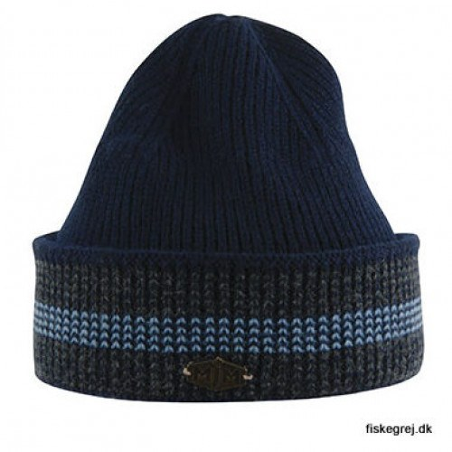 Image of   MJM Beanie 3C Wool Mix Navy/Grey/Lt.Blue