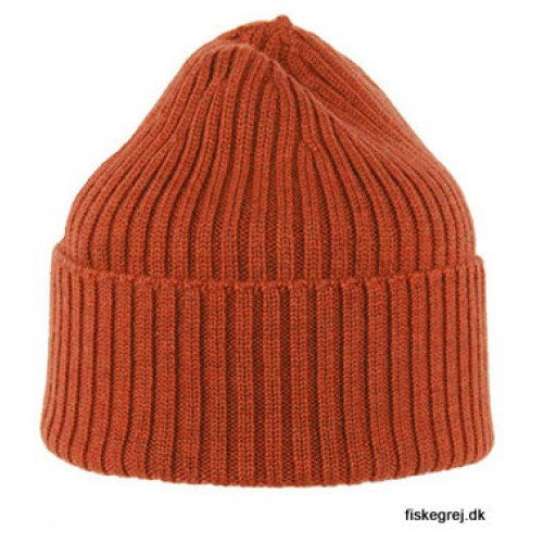 Image of   MJM Beanie W 100% Merino Wool Rust