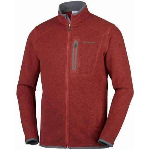 Columbia Altitude Aspect Fleece Rusty Rød Øvrige