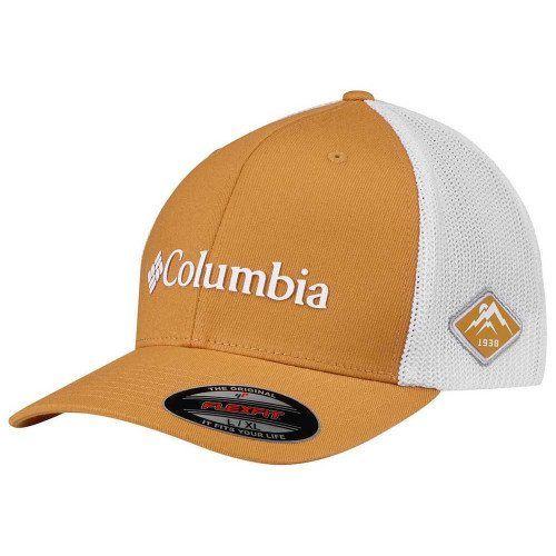 Image of   Columbia Mesh Ball Cap Flexfit Orange
