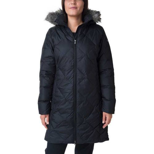 Columbia Icy Heights™ II Mid Length Down Jacket Sort thumbnail