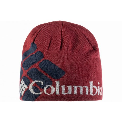 Image of   Columbia Heat Beanie Blå Logo