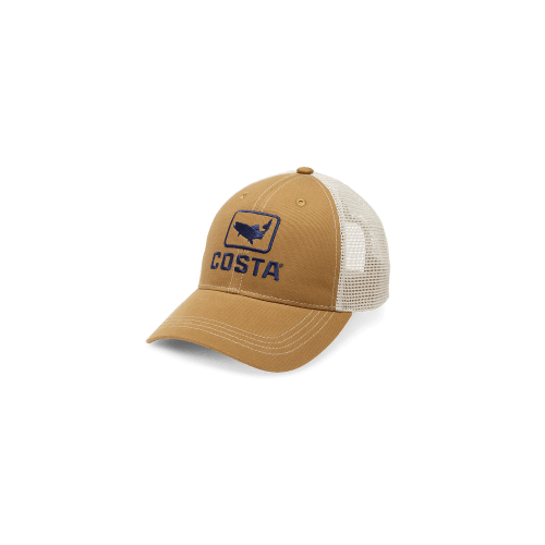 Image of   Costa Trout Trucker Cap Brown