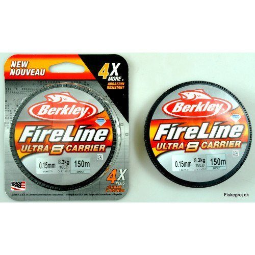 Berkley Fireline Ultra 8 Sort 150m