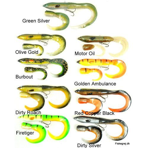 Savage Gear 3D Hard Eel Tail Bait