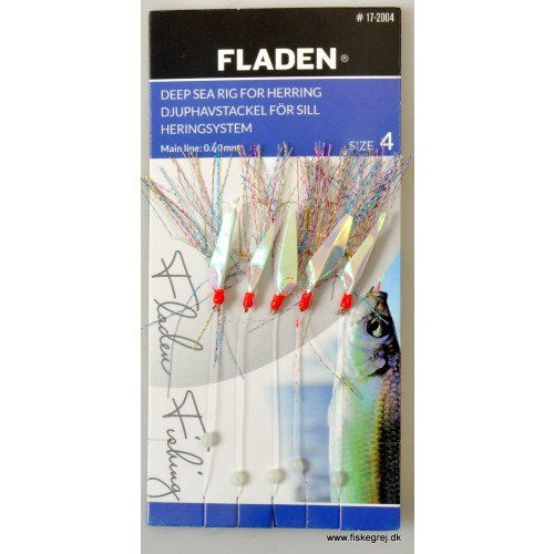 Image of   Fladen Sildeforfang 17-2004