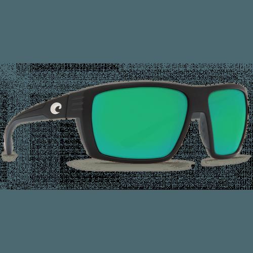 Image of   Costa Hamlin 580P Matte Black/Green Mirror