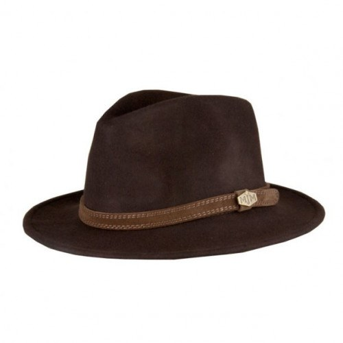Image of   MJM CPH Wool Felt Hat Brun