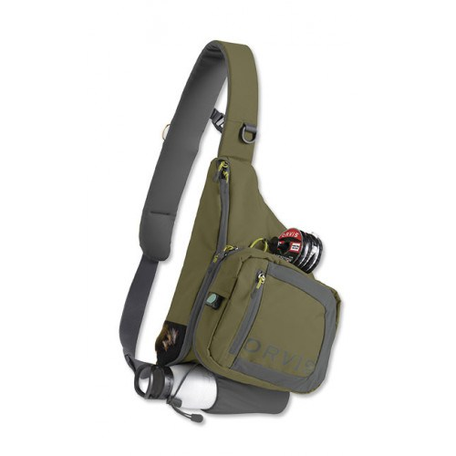 Image of   Orvis Safe Passage Sling Pack Olive
