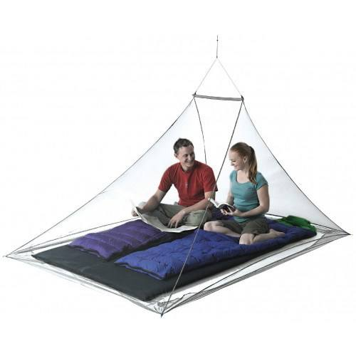Image of   Seatosummit Nano Mosquito Pyramid Net Double