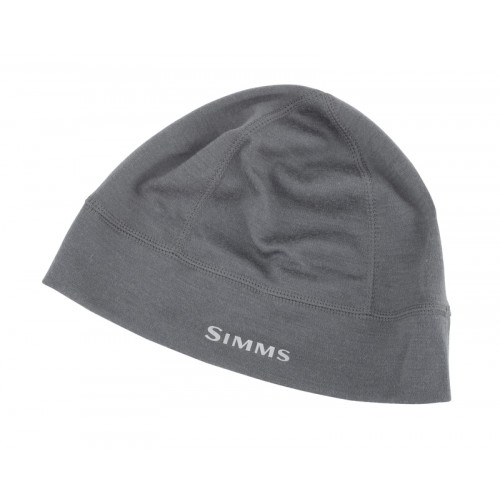 Image of   Simms Ultra-Wool Core Beanie Carbon
