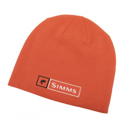 Image of   Simms Lockup Beanie Orange