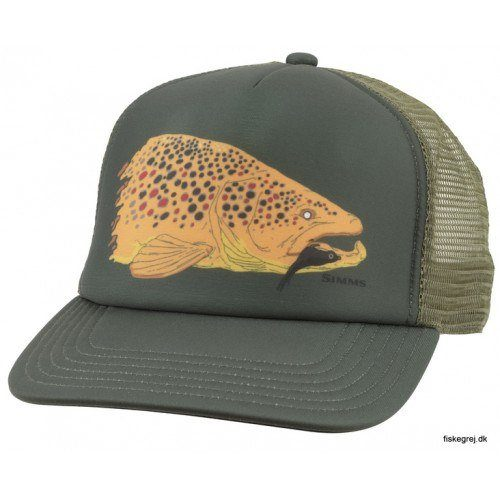 Image of   Simms Kype Jaw Trucker Foliage
