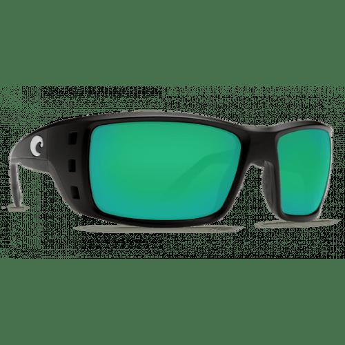 Image of   Costa Permit 580G Matte Black/Green Mirror