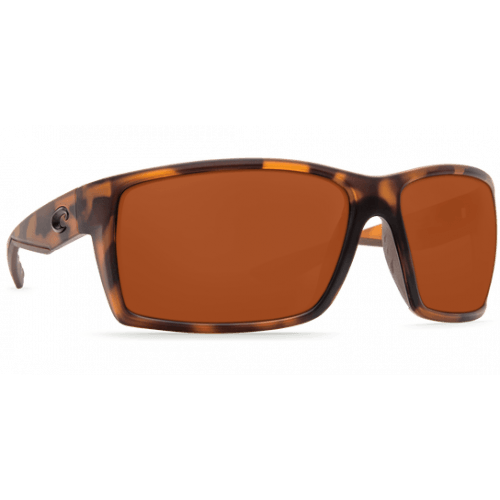 Image of   Costa Reefton 580P Matte Retro Tortuise/Copper