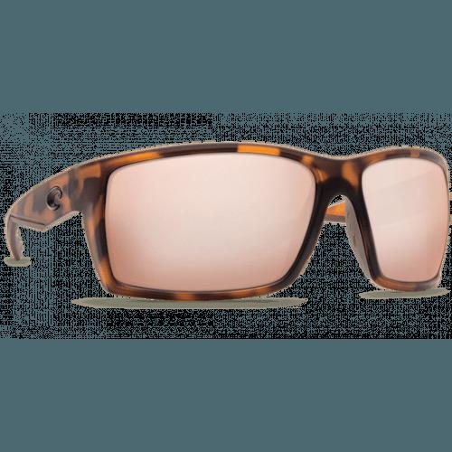 Image of   Costa Reefton 580G Retro Matte Tortuise/Sunrise Silver Mirror