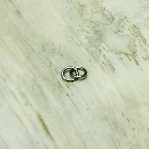 Grizzly Connected Welded Stainless Steel Ring 5x5mm thumbnail