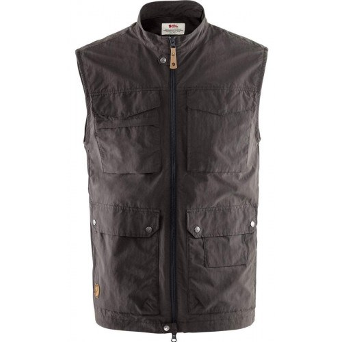 Fjällräven Travellers MT Vest Dark Grey thumbnail
