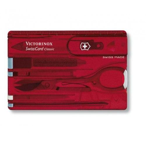 Image of   Victorinox Swisscard 0.7100. Rød