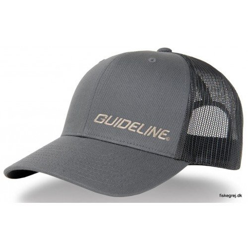 Image of   Guideline Retro Trucker Cap Charcoal/Black