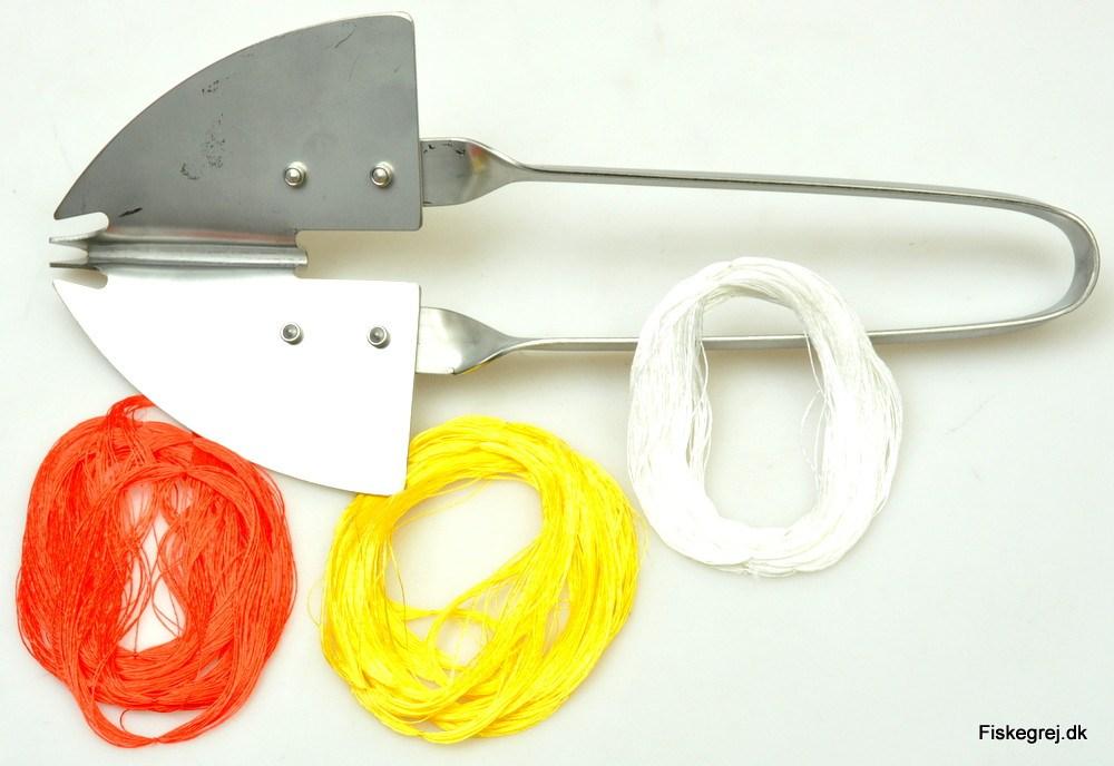 Hornfiskejern inkl. Silkekroge
