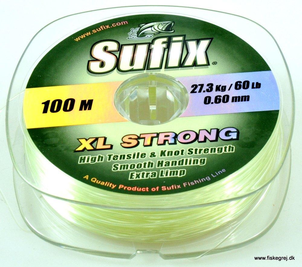Sufix XL Strong 100m Lemon Grøn