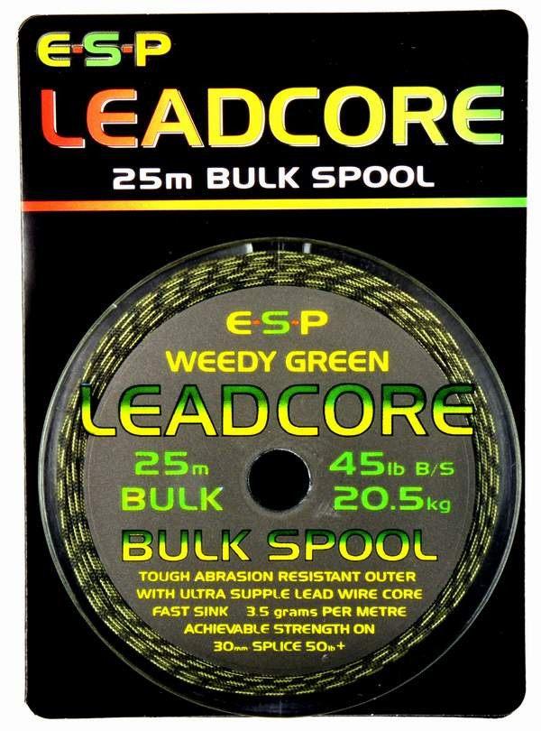ESP Leadcore 25m Bulk spole